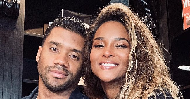 Ciara Flashes White Smile in a Sweet Photo Posing with Her Husband, Russell Wilson