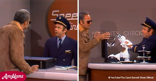 'Carol Burnett Show' airline security sketch was filmed in 1976, but still funny