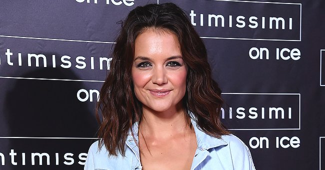 Katie Holmes of 'Dawson's Creek' Fame Turns Heads in Sheer Black Romper & Matching Coat for Flaunt Magazine Photo Shoot