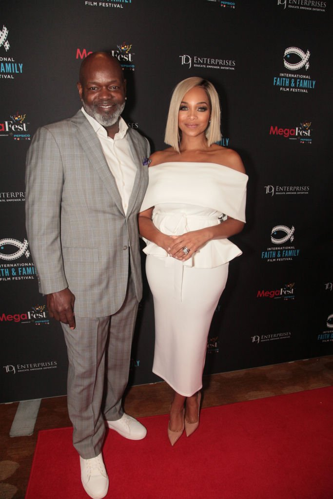 Emmitt Smith and Pat Smith attend the MegaFest 2017 International Faith and Family Film Festival | Photo: Getty Images