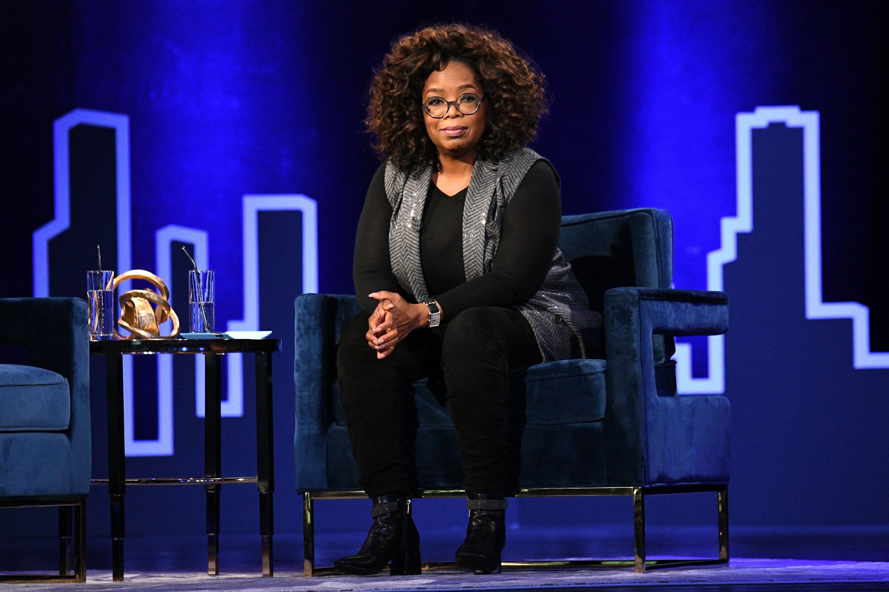Oprah Winfrey during Oprah's SuperSoul Conversations on Feb. 05, 2019 in New York City | Photo: Getty Images