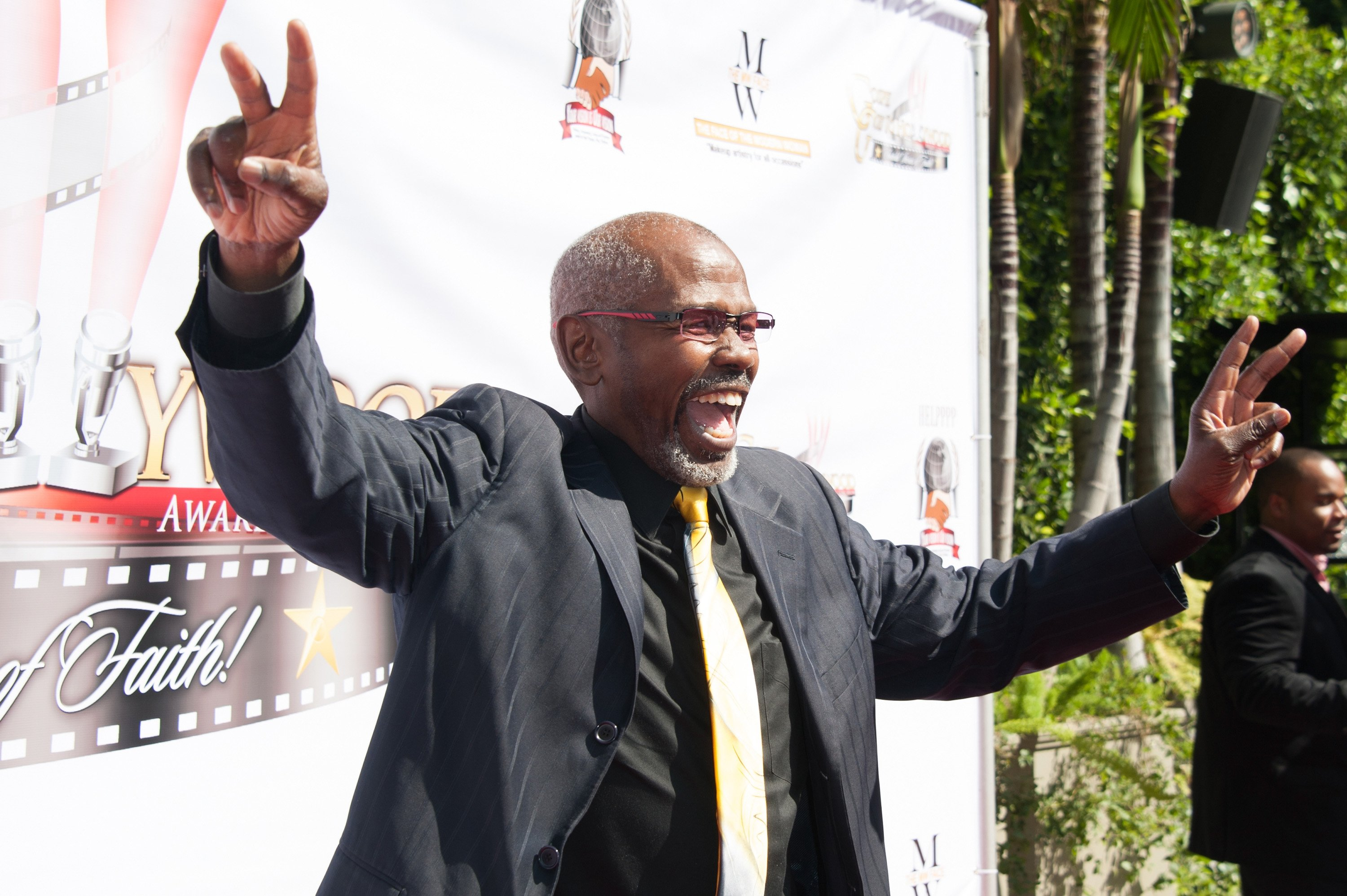 Actor Ernest Lee Thomas arrives at the Gospel Goes To Hollywood event at the Vibiana on February 26, 2016. | Photo: Getty Images