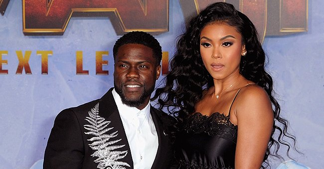 Check Out Kevin Hart's Wife Eniko's Toned & Tan Figure in a White Crop Top & Trendy Shorts