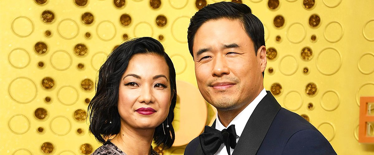 Jae W. Suh and Randall Park attend the 71st Emmy Awards at Microsoft Theater on September 22, 2019   Photo: Getty Images