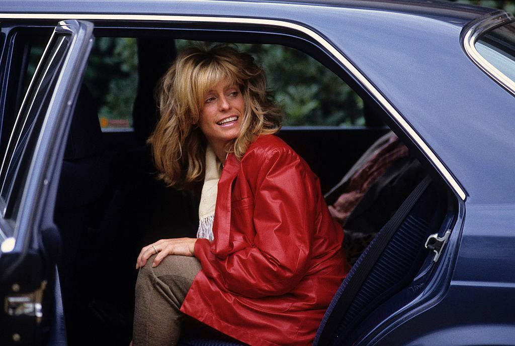 Farah Fawcett at the American Film Festival of Deauville on September 4 1984 in Paris, France. | Source: Getty Images