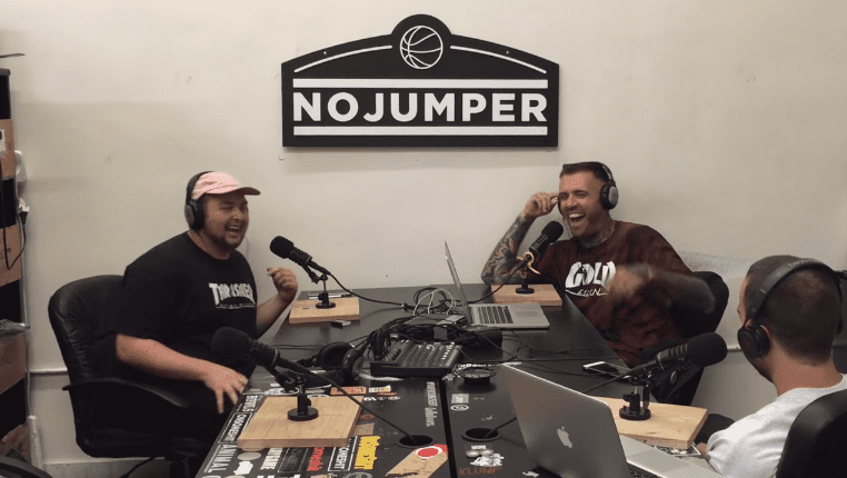 Noah Munck (left) in an interview with No Jumper in June 2016 | Photo: YouTube/No Jumper