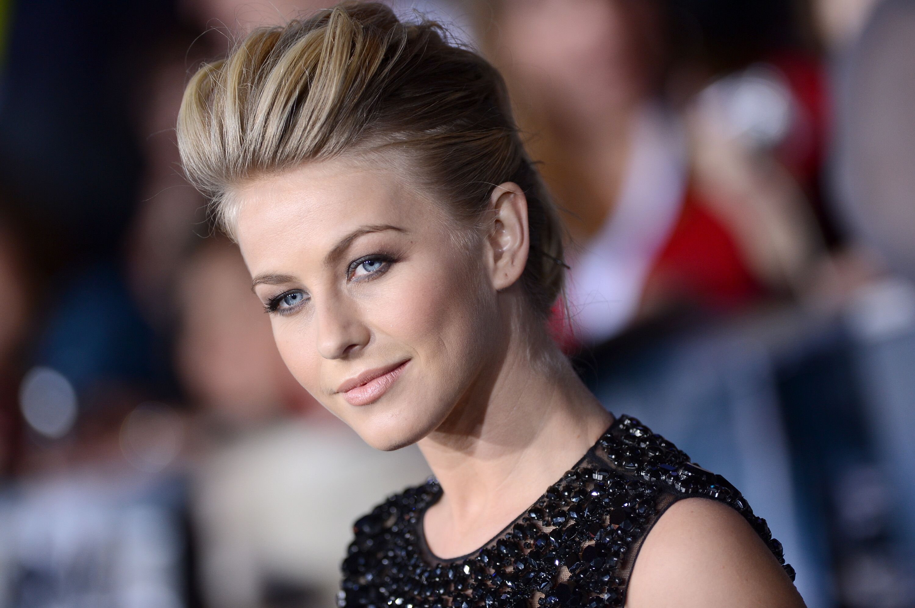 """Julianne Hough at the premiere of """"The Twilight Saga: Breaking Dawn - Part 2"""" at Nokia Theatre L.A. Live on November 12, 2012 California. 