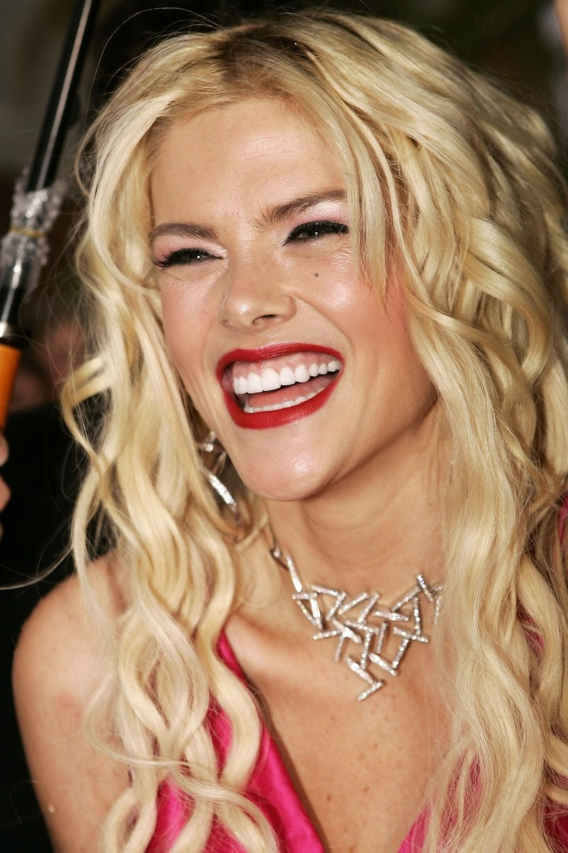Anna Nicole Smith on March 3, 2005 in Sydney, Australia   Photo: Getty Images