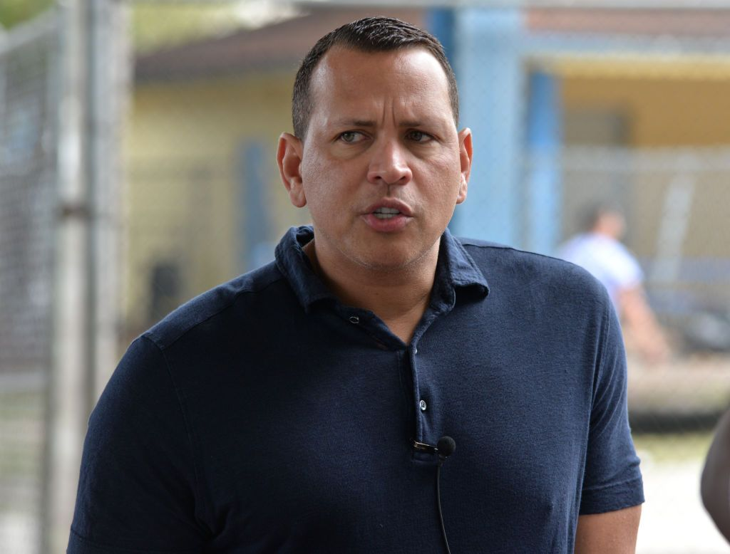 Alex Rodriguez at the Fox Sports $200,0000 donation for the Boys and Girls Club of Miami on January 29, 2020, in Miami, Florida   Photo: Manny Hernandez/Getty Images