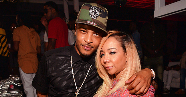 T.I. & Tiny Harris' Daughter Heiress Looks like a Little Princess in African Dress & Head Wrap