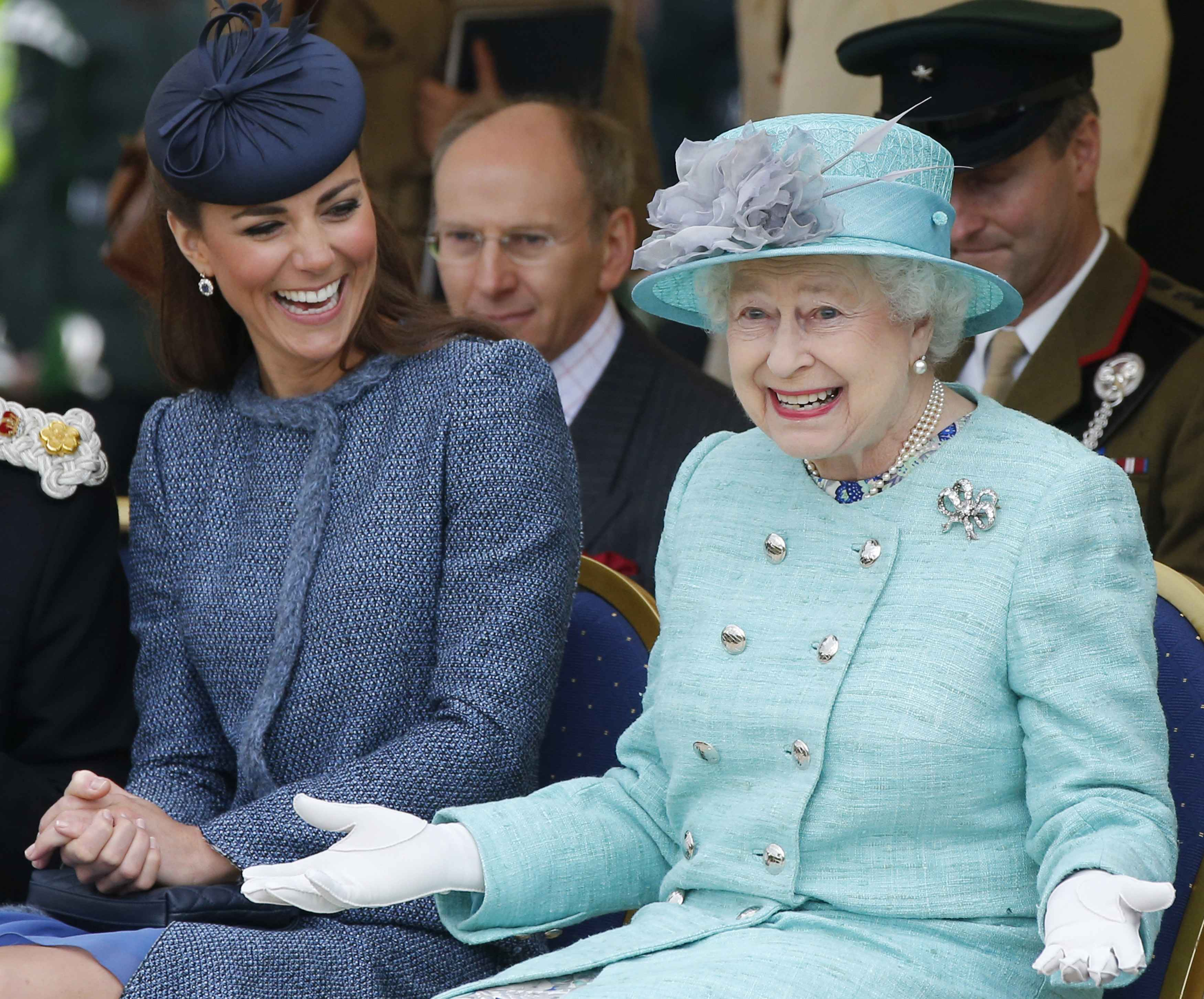 Kate Middleton and Queen Elizabeth II. I Image: Getty Images.