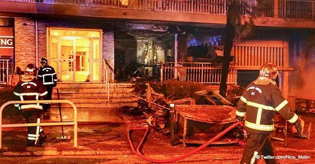 """La pizzeria """"Mozart Del Gusto"""" a été détruite par une explosion"""