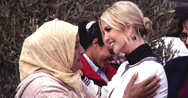 Ivanka Trump Warmly Welcomed by Female Landowners during First Visit to Morocco