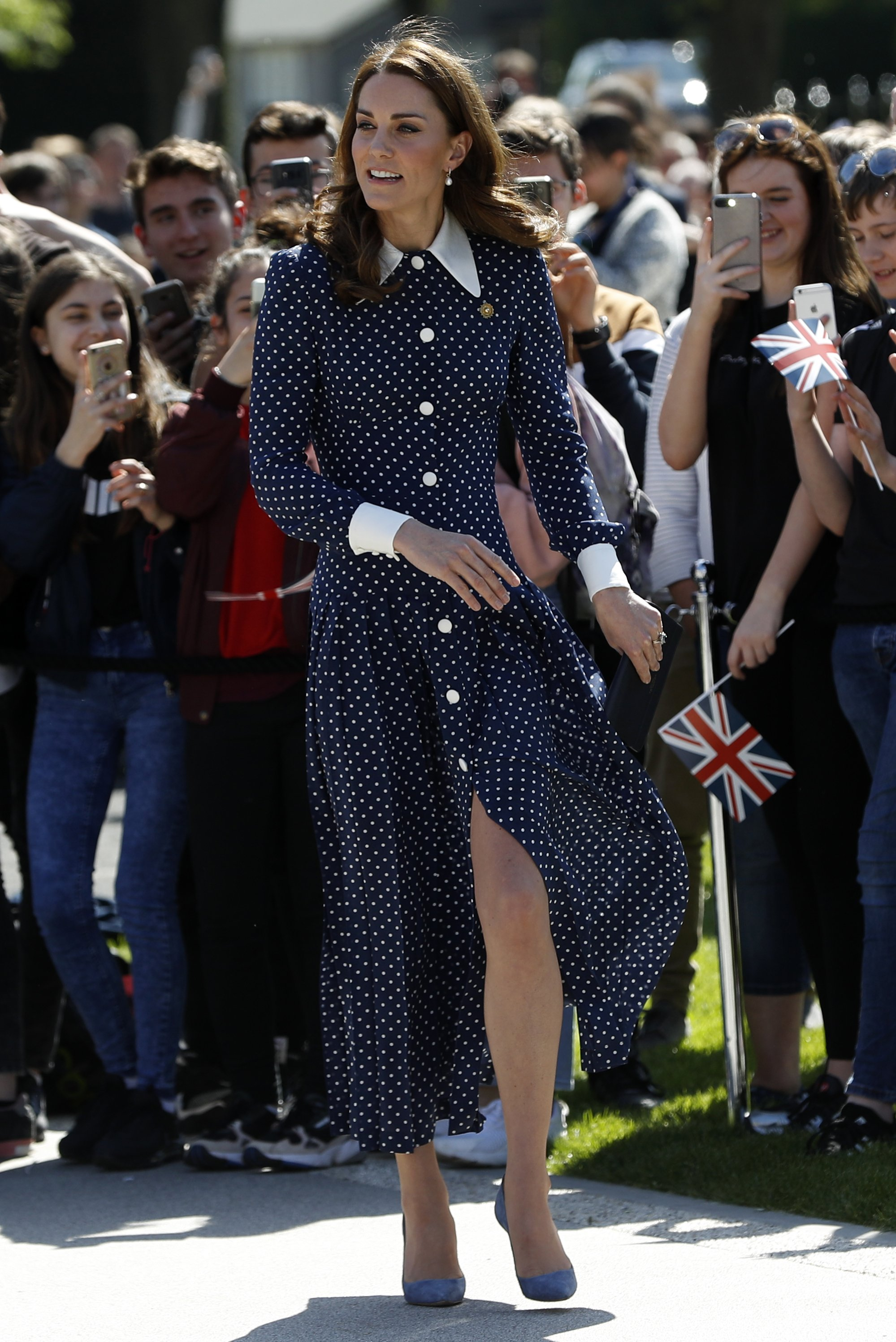 Kate Middleton attends D-Day in Bletchly Park on May 14, 2019 | Photo: Getty Images