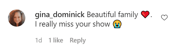 Fan's comment under a picture posted by Coco Austin. | Photo: Instagram/@coco