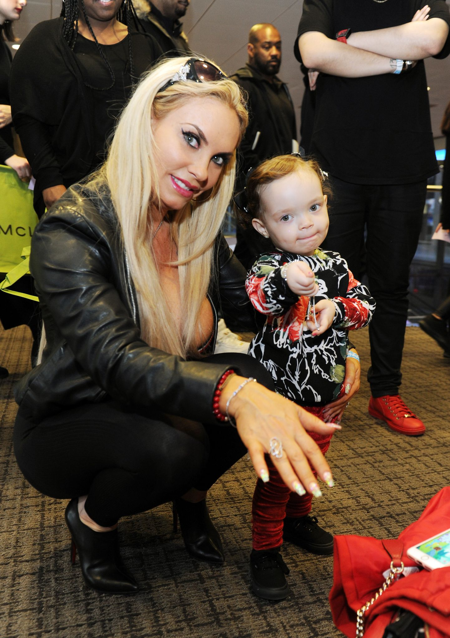 Coco Austin at the Grammy Gift Lounge on January 27, 2018 in New York.   Photo: Getty Images