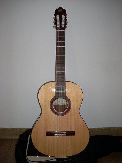 Une guitare. l Source: Flickr
