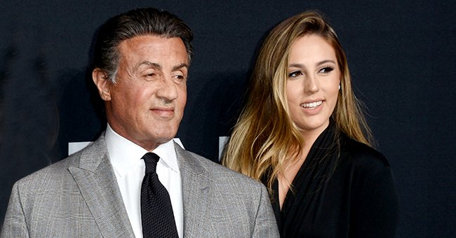 Sylvester Stallone's Daughter Sophia Shows off Her Gorgeous Figure in a Rare Bikini Photo