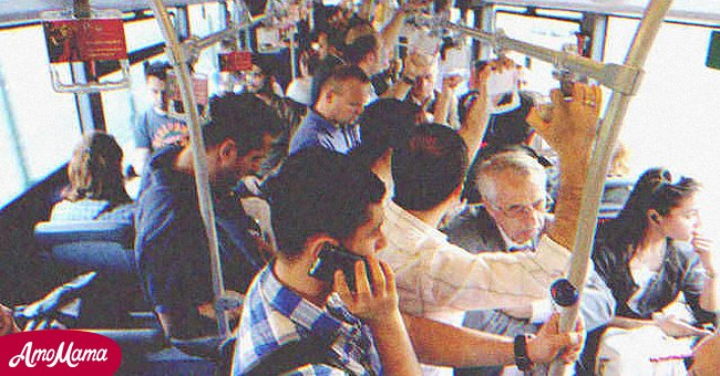 Riding in a crowded bus   Source: Shutterstock