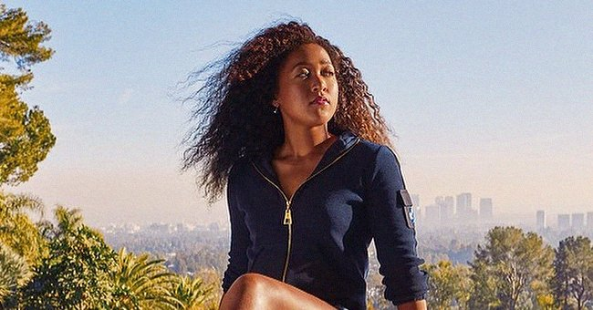 Naomi Osaka Sports a Navy Top with Matching Mini-Skirt as She Flaunts Her Long Fit Legs (Photo)