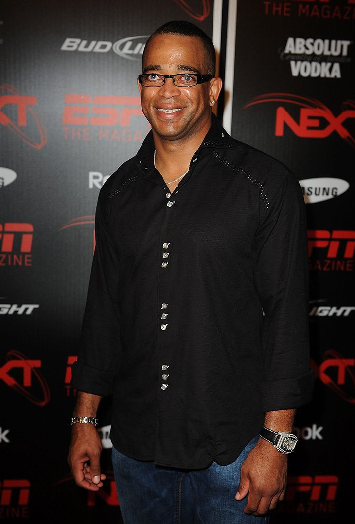 Stuart Scott attends the ESPN The Magazine's NEXT Event at the Fountainbleau Miami Beach on February 5, 2010 in Miami Beach, Florida. I Image: Getty Images.