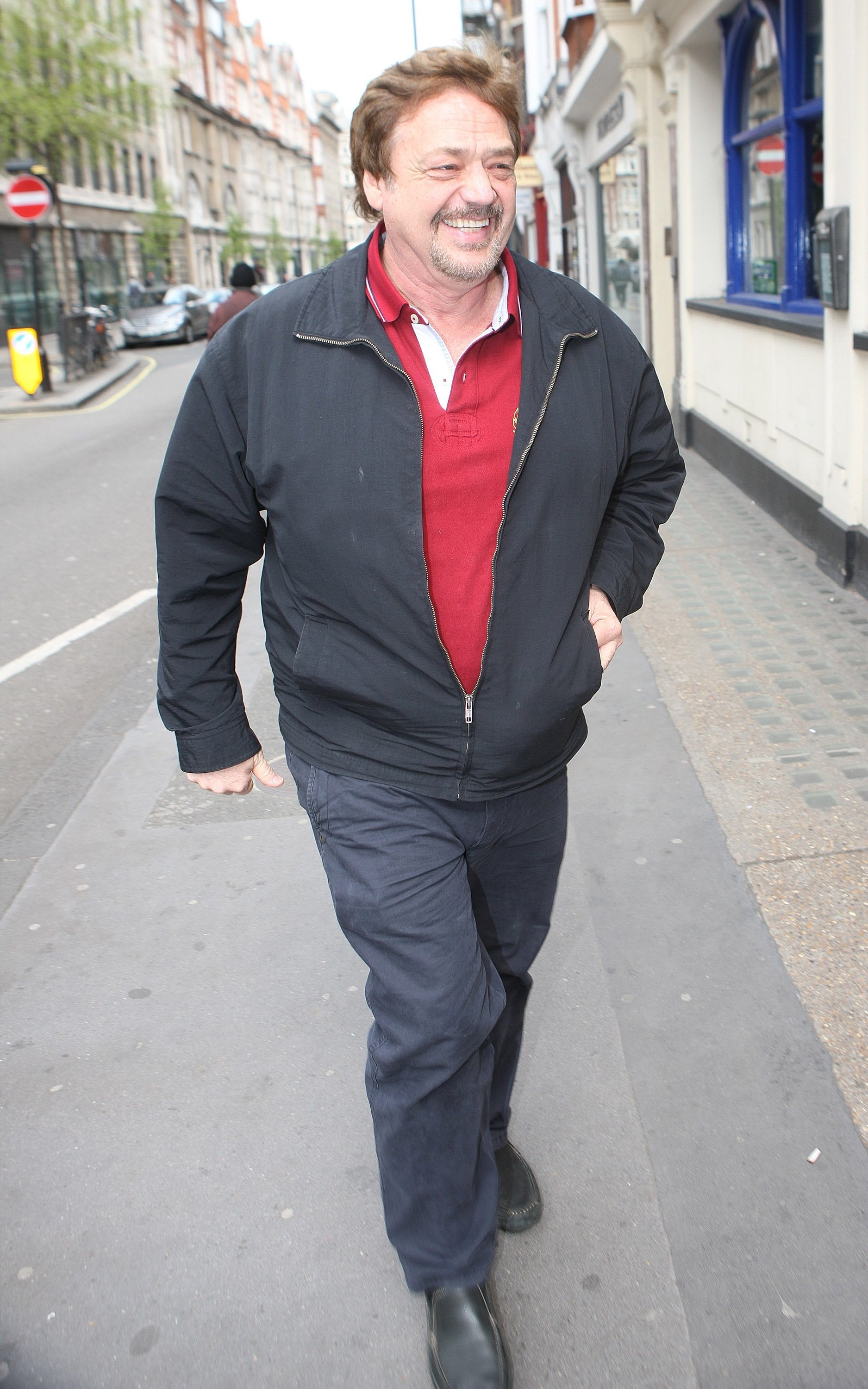 Jay Osmond sighted at BBC Radio 2 on April 16, 2012, in London, England.   Source: Getty Images.