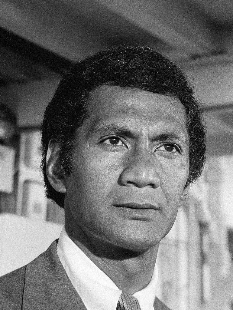"""Al Harrington as Ben Kokua on the """"Hawaii Five-0"""" episode, """"Death Wish on Tantalus Mountain.""""Image dated June 16, 1972 