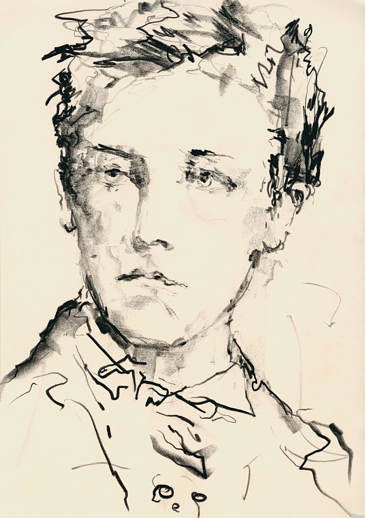 Portrait du poète français Arthur Rimbaud (1854-1891). | Photo : Getty Images