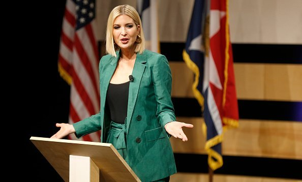 White House advisor Ivanka Trump at El Centro community college on October 3, 2019 | Photo: Getty Images