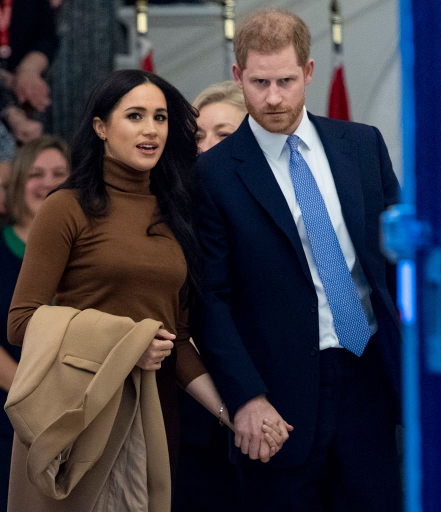 Meghan, Duchess of Sussex and Prince Harry, Duke of Sussex at Canada House on January 7, 2020 in London, England   Photo: Getty Images