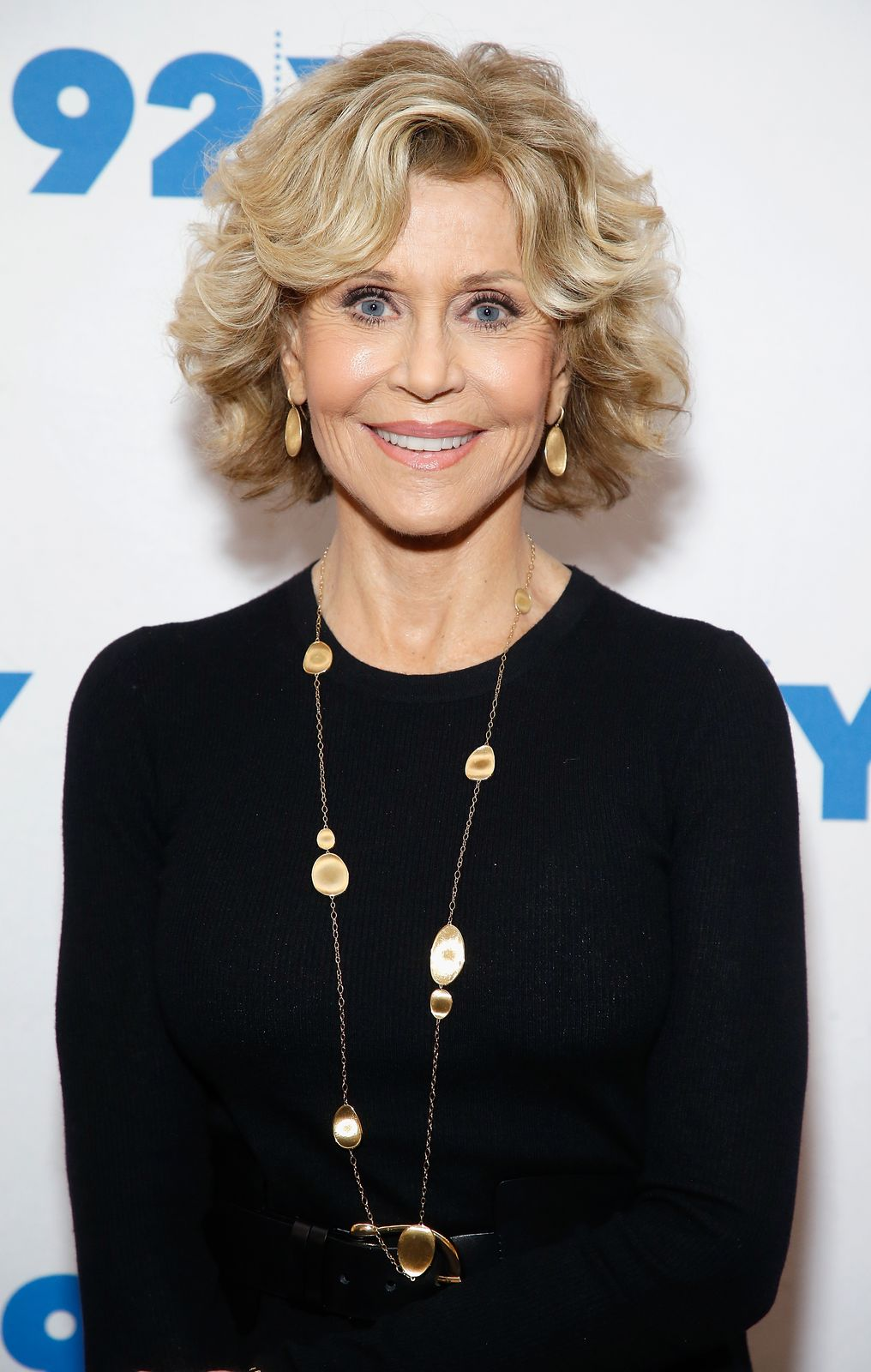 Jane Fonda poses during a conversation with Susan Lacy at the 92nd Street Y on September 21, 2018, in New York City | Photo: John Lamparski/Getty Images