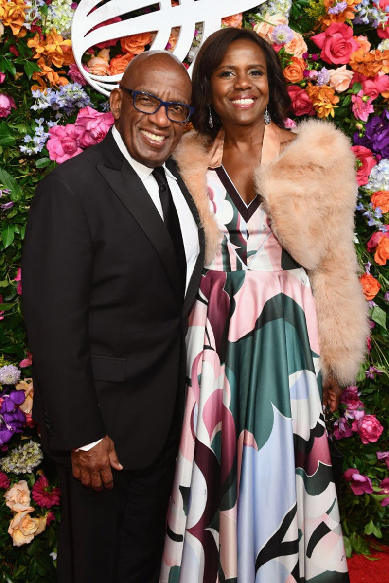 Al Roker and Deborah Roberts attend the American Theatre Wing Centennial Gala at Cipriani 42nd Street on September 24, 2018 in New York City. I Image: Getty Images.
