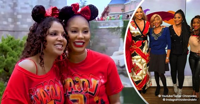 Toni & Tamar Braxton's mother Evelyn shows off slimmer figure in pic after major weight loss