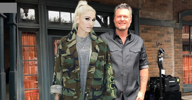 Gwen Stefani Shares Throwback Pic of Boyfriend Blake Shelton Ahead of 'The Voice' Premiere