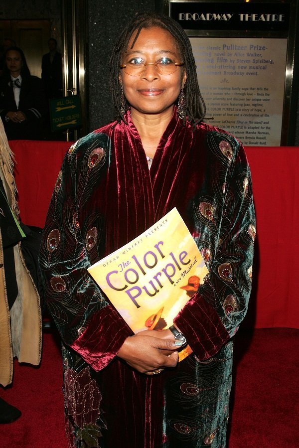Alice Walker at the Broadway Theatre December 1, 2005 in New York City | Source: Getty Images
