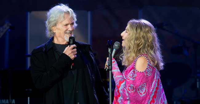 Barbra Streisand Reunites with Co-Star Kris Kristofferson to Perform 'Lost Inside of You'