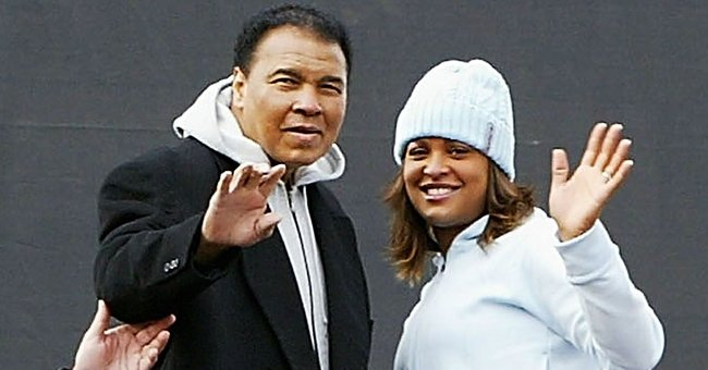 See Throwback Photos Muhammad Ali's Daughter Laila Shared of Him Bonding with His Grandkids