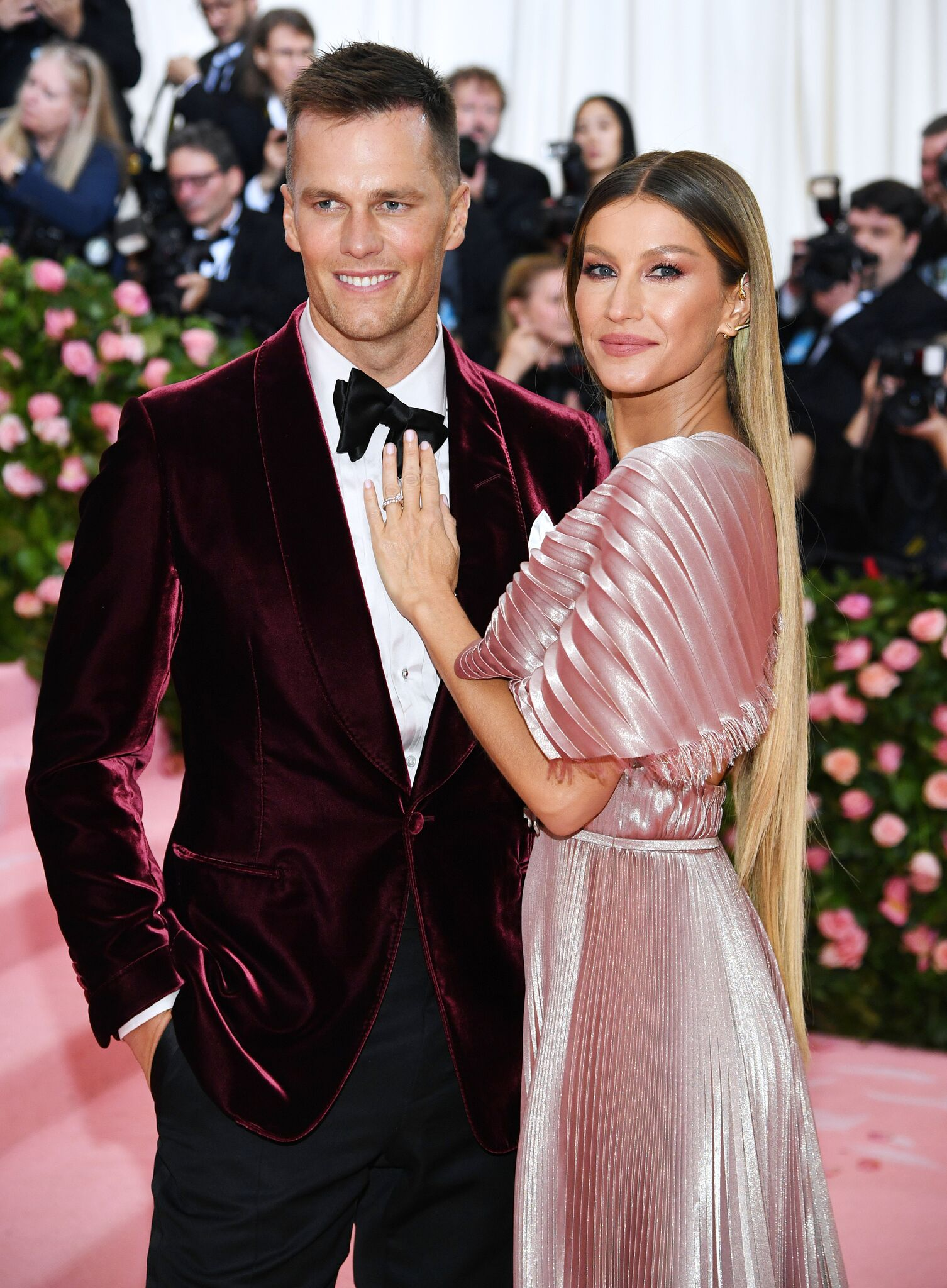 Gisele Bündchen and Tom Brady attend The 2019 Met Gala Celebrating Camp: Notes on Fashion at Metropolitan Museum of Art | Getty Images