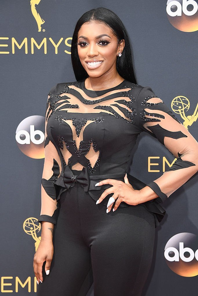 TV personality Porsha Williams attends the 68th Annual Primetime Emmy Awards at Microsoft Theater | Photo: Getty Images