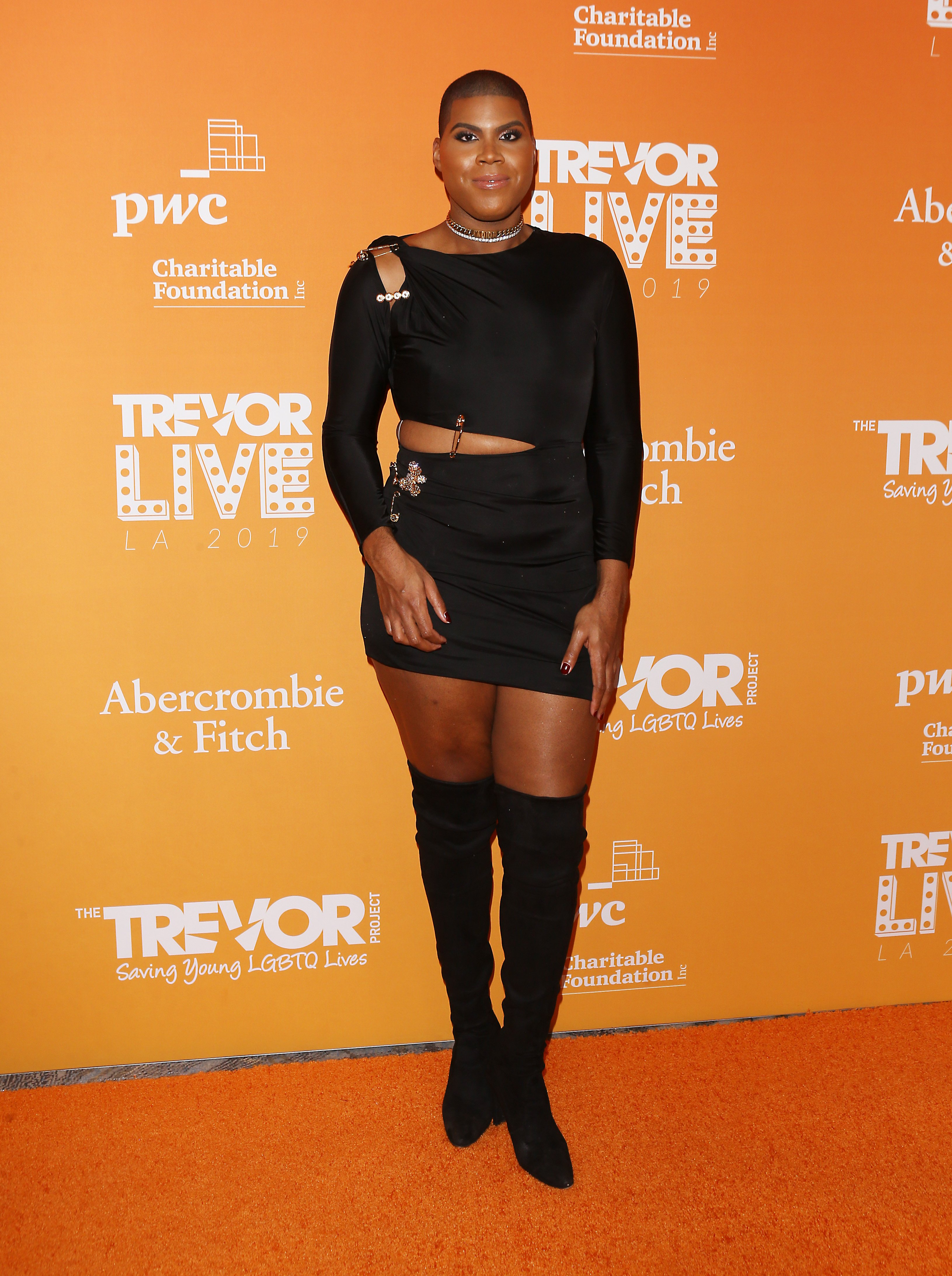 EJ Johnson at the 2019 TrevorLive Los Angeles Gala on November 17, 2019 in Beverly Hills, California   Photo: Getty Images