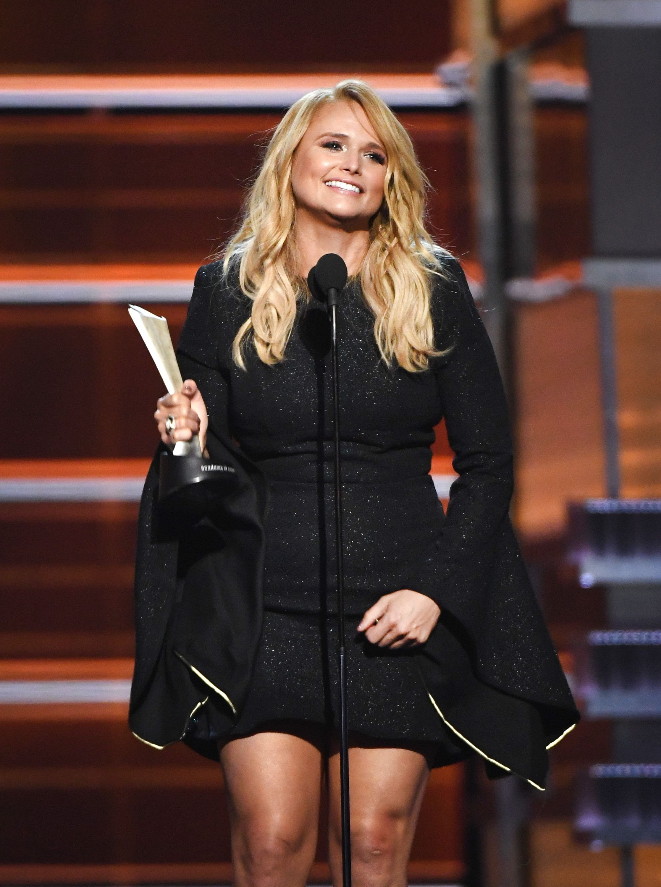Miranda Lambert wins the Female Vocalist of the Year award onstage during the 53rd Academy of Country Music Awards at MGM Grand Garden Arena on April 15, 2018 in Las Vegas, Nevada. | Source: Getty Images
