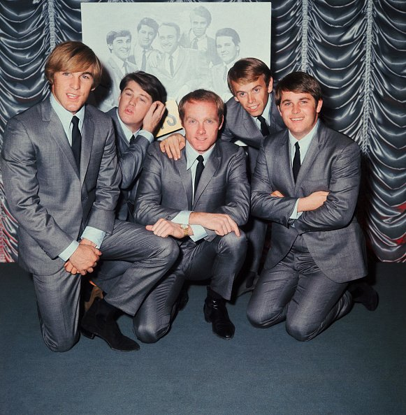 American rock band The Beach Boys, undated image.   Photo: Getty Images