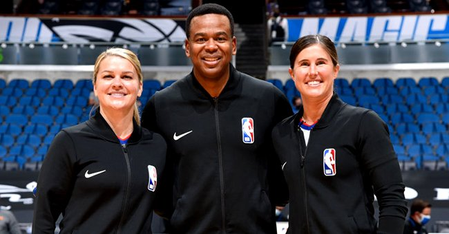 Schroeder, Wright and Sago pictured Monday's game, Jan. 25, 2021. | Photo: Getty Images