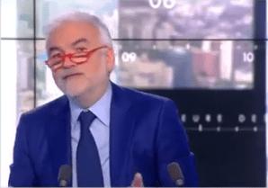Pascal Praud fait part de son désaccord avec son chroniqueur Jean-Louis Burgat. | Capture d'écran GALA VIDEO