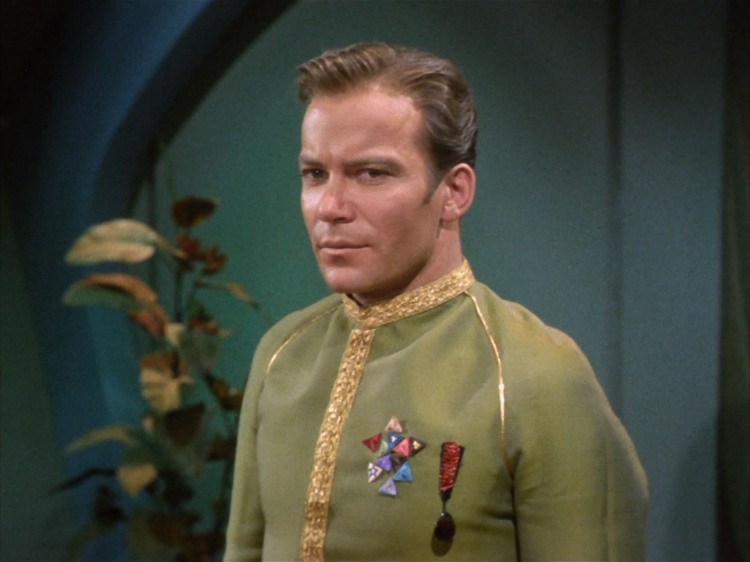 """William Shatner as Captain James T. Kirk on the """"Star Trek: The Original Series"""" episode, """"Space Seed."""" 