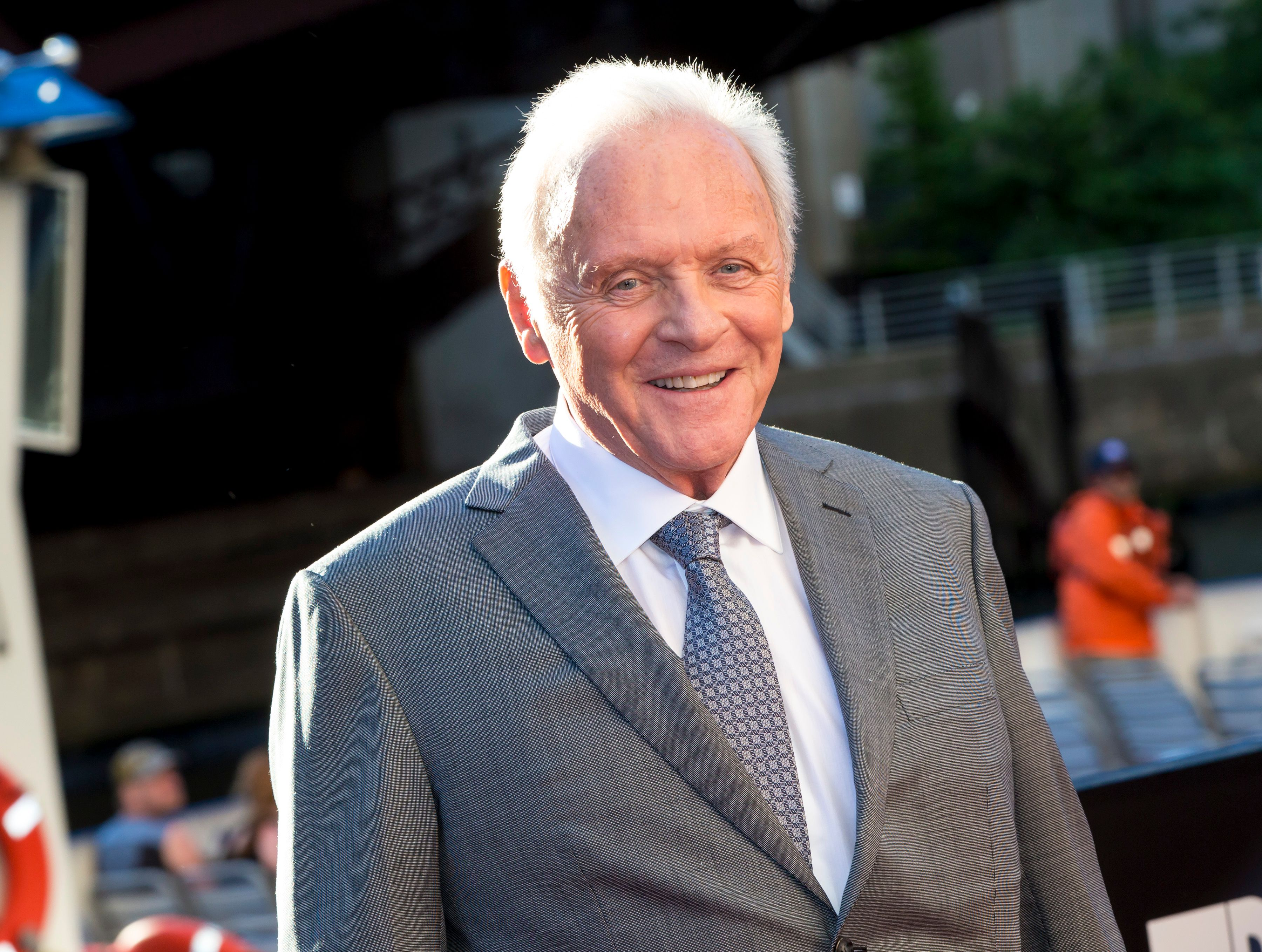 Anthony Hopkins at the Transformers The Last Knight Chicago premiere at Civic Opera Building on June 20, 2017   Photo: Getty Images