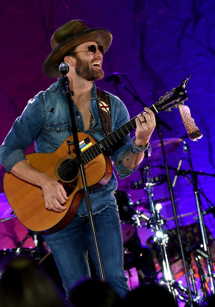 Drake White performs onstage at New Faces of Country Music Dinner & Performance | Getty Images