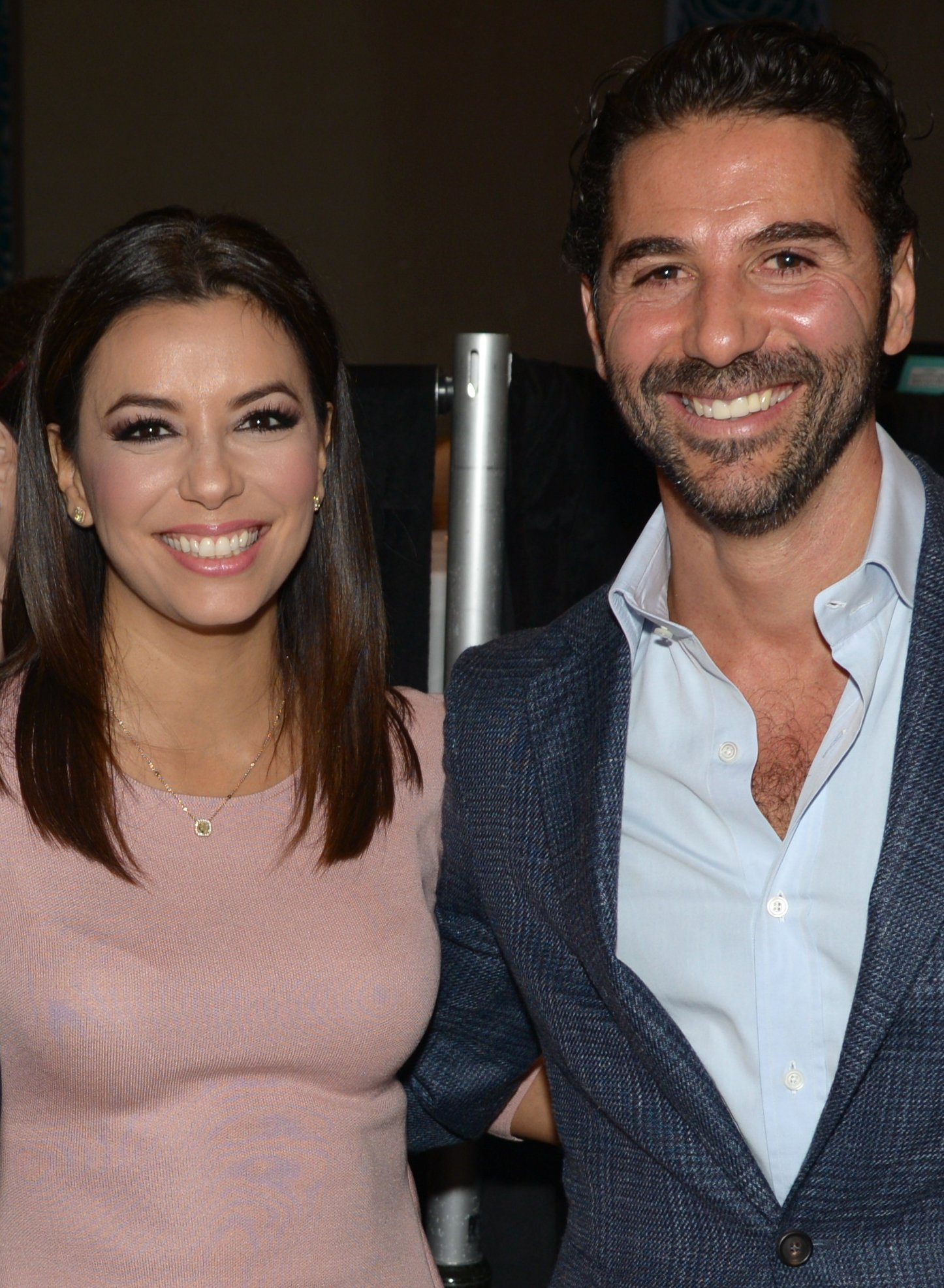 Eva Longoria and Jose Baston attend NATPE in Miami Beach, Florida on January 22, 2015 | Photo: Getty Images