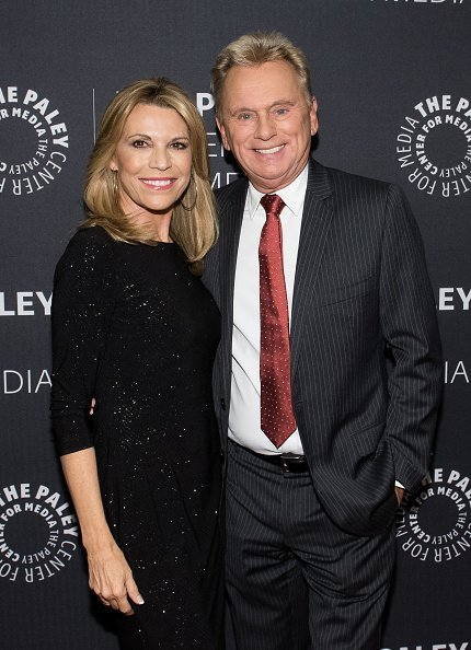 Vanna White and Pat Sajak attend The Paley Center For Media Presents: Wheel Of Fortune: 35 Years As America's Game at The Paley Center for Media | Photo: Getty Images