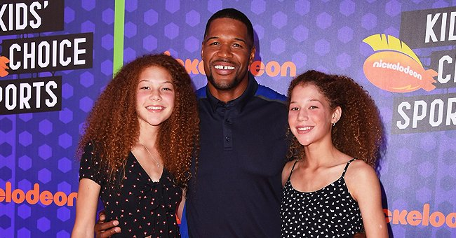 Michael Strahan Glows with Happiness in Rare Photo from His Twin Kids' First Birthday